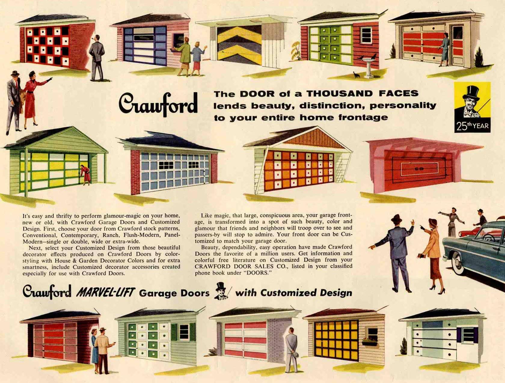 Garage-Doors Crawford gammel